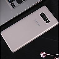 Недорогие Чехлы и кейсы для Galaxy S9 Plus-Кейс для Назначение SSamsung Galaxy S9 Plus / S9 Матовое Кейс на заднюю панель Однотонный Твердый ПК для S9 / S9 Plus / S8 Plus