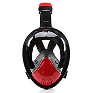 abordables Deportes Acuáticos-Buceo Máscaras / Máscara de esnórquel Anti vaho, Máscaras de Cara Completa, Submarino Ventanilla Única - Natación, Buceo Silicona - para