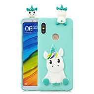 お買い得  携帯電話ケース-ケース 用途 Xiaomi Mi 6X / Mi 5X DIY バックカバー ユニコーン ソフト TPU のために Redmi Note 5A / Redmi 5A / Xiaomi Redmi 4X