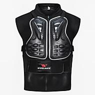 お買い得  -WOSAWE オートバイの保護装置forジャケット フリーサイズ PE / メッシュ生地 / EVA 耐衝撃 / 伸縮性 / 安全・セイフティグッズ