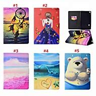 お買い得  携帯電話ケース-ケース 用途 Huawei MediaPad T3 7.0 カードホルダー / スタンド付き / 磁石バックル フルボディーケース セクシーレディ / 動物 / ドリームキャッチャー ハード PUレザー のために Huawei MediaPad T3 7.0