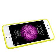Недорогие Кейсы для iPhone 8 Plus-Кейс для Назначение Apple iPhone 6 Plus / Кейс для iPhone 5 Матовое Кейс на заднюю панель Однотонный Мягкий Силикон для iPhone 8 Pluss / iPhone 7 Plus / iPhone 6s Plus