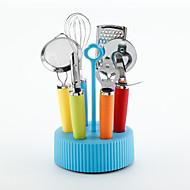 お買い得  キッチン用小物-キッチンツール ステンレス+プラスチック 新デザイン / クリエイティブキッチンガジェット クッキングツールセット 多機能 / フルーツのための / 野菜のための 1個