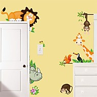 abordables Adhesivos Decorativos-Calcomanías Decorativas de Pared - Calcomanías de Aviones para Pared Animales Interior / Habitación de Niños