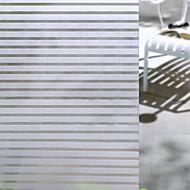 abordables Gran promoción para el hogar-Ventana de película y pegatinas Decoración Mate / Moderno A Rayas CLORURO DE POLIVINILO Adhesivo para Ventana / Mate