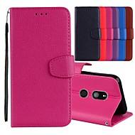 preiswerte Handyhüllen-Hülle Für Sony Xperia XZ / Xperia XZ2 Kreditkartenfächer / mit Halterung / Flipbare Hülle Ganzkörper-Gehäuse Solide Hart PU-Leder für Xperia XZ2 / Sony Xperia XZ