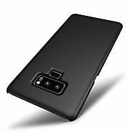 Недорогие Чехлы и кейсы для Galaxy Note-Кейс для Назначение SSamsung Galaxy Note 9 / Note 8 Матовое Кейс на заднюю панель Однотонный Твердый ПК для Note 9 / Note 8