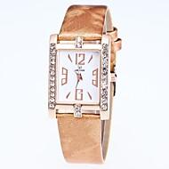 cheap -Women's Dress Watch / Wrist Watch Chinese New Design / Casual Watch / Imitation Diamond PU Band Casual / Fashion Black / White / Blue