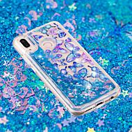 お買い得  携帯電話ケース-ケース 用途 Huawei P20 / P20 lite リキッド / クリア / パターン バックカバー バタフライ ソフト TPU のために Huawei P20 / Huawei P20 Pro / Huawei P20 lite