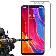 お買い得  スクリーンプロテクター-スクリーンプロテクター のために XIAOMI Xiaomi Mi 8 強化ガラス 1枚 スクリーンプロテクター ハイディフィニション(HD) / 硬度9H / 傷防止