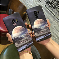 Недорогие Чехлы и кейсы для Galaxy S-Кейс для Назначение SSamsung Galaxy S9 Plus / S9 Матовое Кейс на заднюю панель Пейзаж Твердый ПК для S9 / S9 Plus / S8 Plus