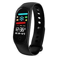 cheap -KUPENG M3S Smartwatch Android iOS Bluetooth Sports Waterproof Heart Rate Monitor Blood Pressure Measurement Pedometer Call Reminder Activity Tracker Sleep Tracker Sedentary Reminder / Touch Screen