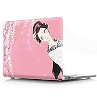 お買い得  MacBook 用ケース/バッグ/スリーブ-MacBook ケース セクシーレディ プラスチック のために MacBook Pro Retinaディスプレイ15インチ