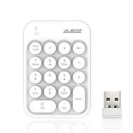お買い得  キーボード-AJAZZ AK18 2.4G キーボード 18 pcs パソコン用品 パータブル / 愛らしいです AAA 動力