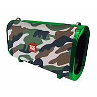 preiswerte -TG123 Speaker 4.2 Micro-USB Lautsprecher für Regale Rot / Blau / Tarnfarbe