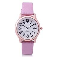cheap -Women's Dress Watch / Wrist Watch Chinese New Design / Casual Watch PU Band Casual / Fashion White / Red / Gold