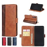 preiswerte Handyhüllen-Hülle Für Huawei P20 Pro / P10 Plus Geldbeutel / Kreditkartenfächer / mit Halterung Ganzkörper-Gehäuse Anwendung Hart PU-Leder für Huawei P20 / Huawei P20 Pro / Huawei P20 lite