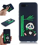 Etui Til Huawei Honor 10 / Honor 9 Lite Mønster Bagcover 3D-tegneseriefigur / Panda Blødt TPU for Huawei Honor 10 / Huawei Honor 9 Lite