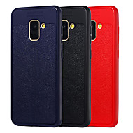 cheap Galaxy A Series Cases / Covers-Case For Samsung Galaxy A8 2018 / A6 (2018) Shockproof / Dustproof Full Body Cases Solid Colored Soft TPU for A5(2018) / A6 (2018) / A6+ (2018)