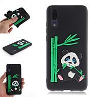 preiswerte Handyhüllen-Hülle Für Huawei P20 / P20 Pro Muster Rückseite 3D Zeichentrick / Panda Weich TPU für Huawei P20 / Huawei P20 Pro / Huawei P20 lite