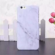 Недорогие Кейсы для iPhone 8-Кейс для Назначение Apple iPhone X / iPhone 8 / iPhone 6 Plus Кейс на заднюю панель Мрамор Твердый ПК для iPhone X / iPhone 8 Pluss / iPhone 8