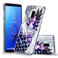Недорогие Чехлы и кейсы для Galaxy S9 Plus-Кейс для Назначение SSamsung Galaxy S9 Plus / S9 С узором Кейс на заднюю панель Фрукты Мягкий ТПУ для S9 / S9 Plus / S8 Plus