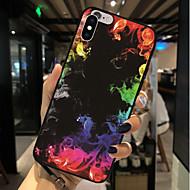 Недорогие Кейсы для iPhone 8-Кейс для Назначение Apple iPhone X / iPhone 8 С узором Кейс на заднюю панель Пейзаж Мягкий ТПУ для iPhone X / iPhone 8 Pluss / iPhone 8