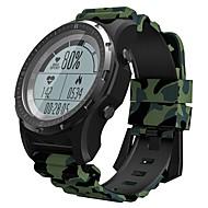 Недорогие Смарт-электроника-KING WEAR S966 Смарт Часы Android iOS Bluetooth GPS Спорт Водонепроницаемый Пульсомер Сенсорный экран / Израсходовано калорий / Длительное время ожидания / Хендс-фри звонки / Секундомер / Педометр