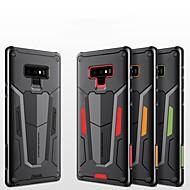 Недорогие Чехлы и кейсы для Galaxy Note-Кейс для Назначение SSamsung Galaxy Note 9 Защита от удара / Рельефный Кейс на заднюю панель броня Твердый ПК для Note 9