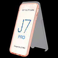 Недорогие Чехлы и кейсы для Galaxy J-Кейс для Назначение SSamsung Galaxy J7 (2017) / J5 (2017) Прозрачный Чехол Однотонный Твердый ТПУ для J7 (2017) / J6 (2018) / J5 (2017)