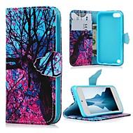 preiswerte iPod-Hüllen / Cover-Hülle Für iTouch 5/6 Flipbare Hülle / Muster / Magnetisch Rückseite Hart