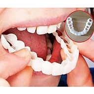 baratos Gadgets de Banheiro-whitening pasta de dente aparelho de cintas perfeita conforto fit flex dentes dentaduras beleza ferramentas
