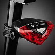 お買い得  -テールランプ LED 自転車用ライト サイクリング 防水, 調整可, 耐久 単四電池 50-100 lm レッド サイクリング - CoolChange