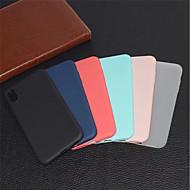 Kılıf Na Jabłko iPhone XS / iPhone XR Matowa Osłona tylna Solidne kolory Miękka TPU na iPhone XS / iPhone XR / iPhone XS Max