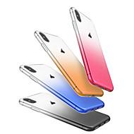 Недорогие Кейсы для iPhone 8-Кейс для Назначение Apple iPhone X / iPhone 8 / iPhone 8 Plus Защита от пыли Кейс на заднюю панель Градиент цвета Мягкий ТПУ для iPhone X / iPhone 8 Pluss / iPhone 8