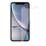 Недорогие Защитные плёнки для экрана iPhone-Защитная плёнка для экрана для Apple iPhone XR Закаленное стекло 1 ед. Защитная пленка для экрана Уровень защиты 9H / Взрывозащищенный