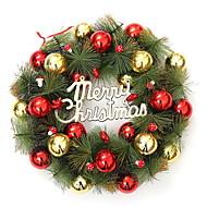 abordables Decoraciones de Celebraciones y Fiestas-Adornos / ornamentos de Navidad Árbol de Navidad El plastico / PVC Redondo Fiesta Decoración navideña