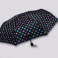 abordables Accesorios para la Lluvia-Tejido / Acero Inoxidable Todo Soleado y lluvioso / Nuevo diseño Paraguas de Doblar