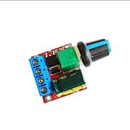 お買い得  Arduino 用アクセサリー-DC 5V-35V 5A 20khz LEDモーターコントローラスピードコントローラスイッチ調光LEDインジケータ付き調光器