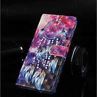 Недорогие Кейсы для iPhone 8 Plus-Кейс для Назначение Apple iPhone XR / iPhone XS Max Кошелек / Бумажник для карт / со стендом Чехол Ловец снов Твердый Кожа PU для iPhone XS / iPhone XR / iPhone XS Max