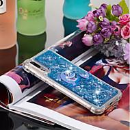 お買い得  携帯電話ケース-ケース 用途 Huawei P20 / P20 Pro 耐衝撃 / リキッド / パターン バックカバー 動物 ソフト TPU のために Huawei P20 / Huawei P20 Pro / Huawei P20 lite