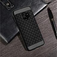Недорогие Чехлы и кейсы для Galaxy S8-Кейс для Назначение SSamsung Galaxy S9 Plus / S9 Ультратонкий Кейс на заднюю панель Однотонный Мягкий Кожа PU для S9 / S9 Plus / S8 Plus