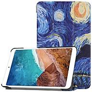 お買い得  携帯電話ケース-ケース 用途 Xiaomi Xiaomi Tab 4 スタンド付き / フリップ / パターン フルボディーケース 油絵 ハード PC のために Xiaomi Tab 4