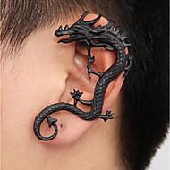 cheap -Men's Vintage Style Ear Cuff - Dragon Punk Black For Street
