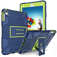 cheap -Case For Apple iPad (2017) Shockproof / with Stand Full Body Cases Solid Colored Soft Silicone for iPad (2018) / iPad (2017)