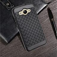 お買い得  携帯電話ケース-ケース 用途 Samsung Galaxy Y3(2017) / Mate 10 pro 超薄型 バックカバー ソリッド ソフト TPU のために P8 Lite (2017) / Huawei Honor 9 Lite / Mate 10