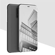 preiswerte Handyhüllen-Hülle Für OnePlus OnePlus 6 Geldbeutel / mit Halterung / Spiegel Ganzkörper-Gehäuse Solide Hart PU-Leder für OnePlus 6