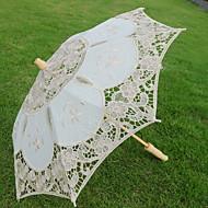 abordables Accesorios para la Lluvia-El material especial Mujer Soleado y lluvioso Paraguas de Doblar