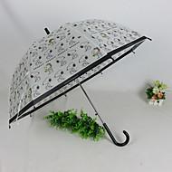Недорогие Защита от дождя-пластик Девочки Солнечный и дождливой Зонт-трость