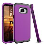 Недорогие Чехлы и кейсы для Galaxy S8 Plus-BENTOBEN Кейс для Назначение SSamsung Galaxy S8 Plus / S8 Защита от удара Чехол Однотонный Твердый ТПУ / ПК для S8 Plus / S8